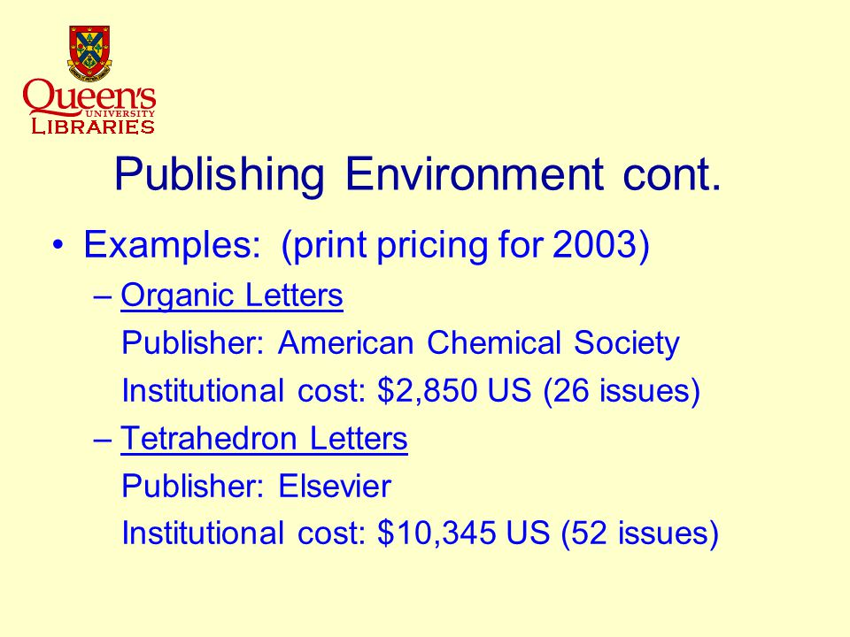 PubMed Central Digital archive of life sciences journal literature – NOT a publisher Access to PMC is free and unrestricted Articles indexed in Medline Participating journals include all their peer- reviewed research articles in PMC Includes 39 life-sciences titles + 57 BMC (BioMed Central) titles