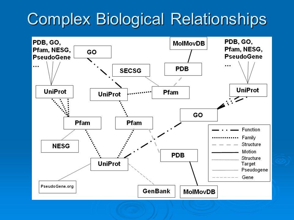 Complex Biological Relationships