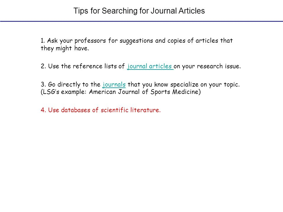 Sample Databases of Life Science Literature DatabaseDescription of ContentsRequires Paid Subscription for Access to Full-text Articles.