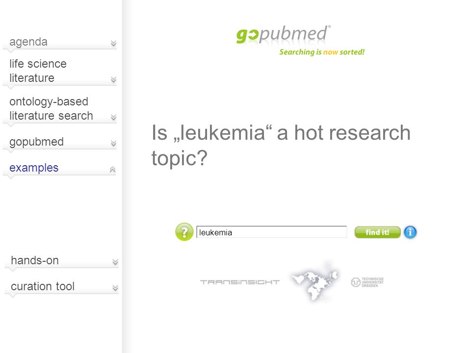 "leukemia Is ""leukemia a hot research topic."
