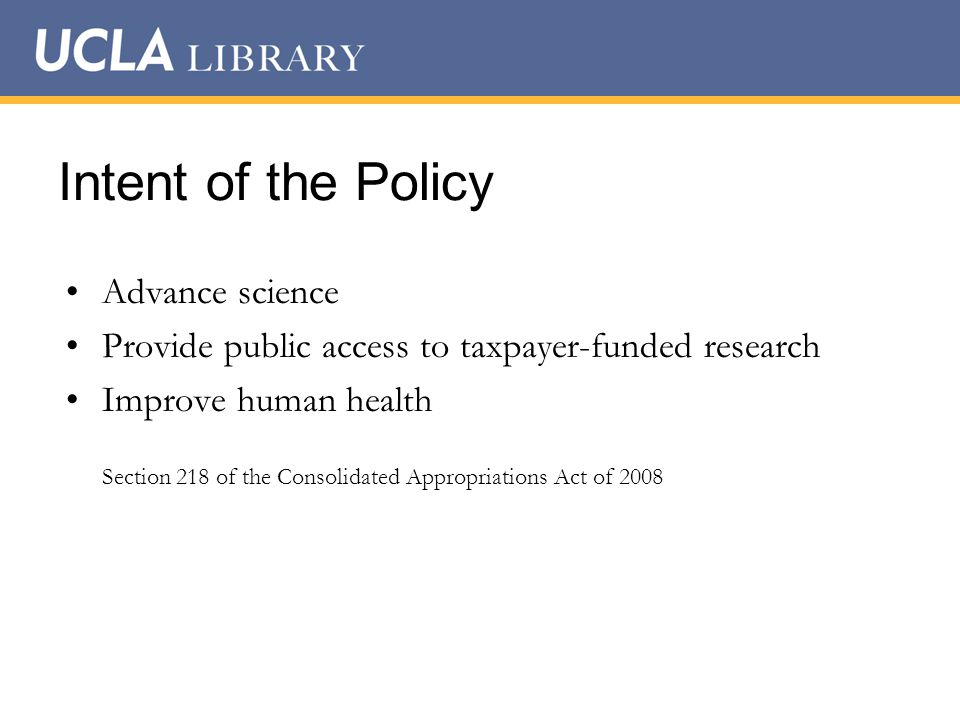 Policy Compliance 1.Address Copyright.2.Submit to the NIH Manuscript Submission System.