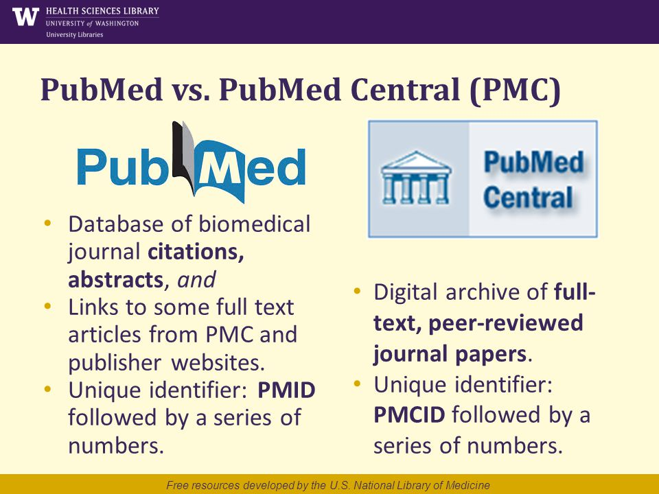 PubMed vs.