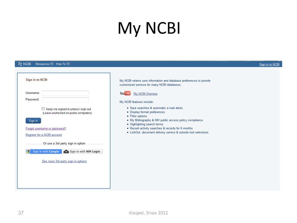 My NCBI 37Alaqeel, Sinaa 2012
