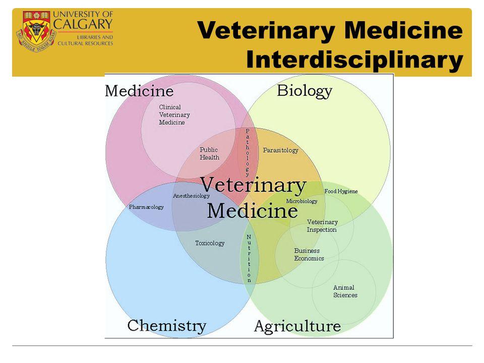 Veterinary Medicine Interdisciplinary