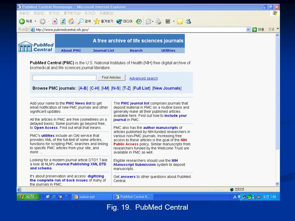 Fig. 19. PubMed Central