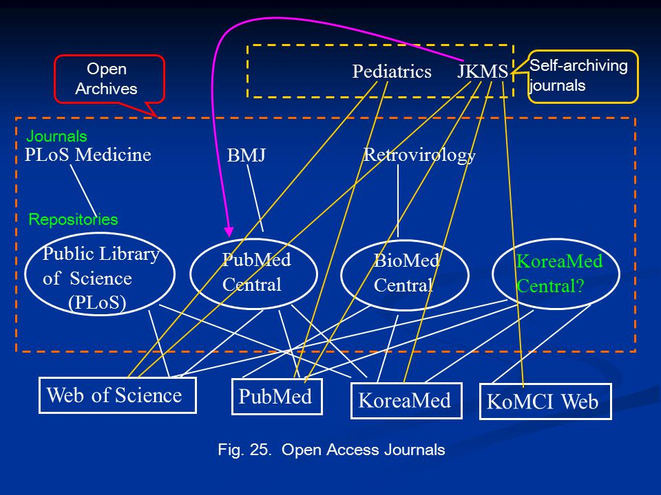 PLoS Medicine BMJ Public Library of Science (PLoS) PubMed Central BioMed Central KoreaMed Central.