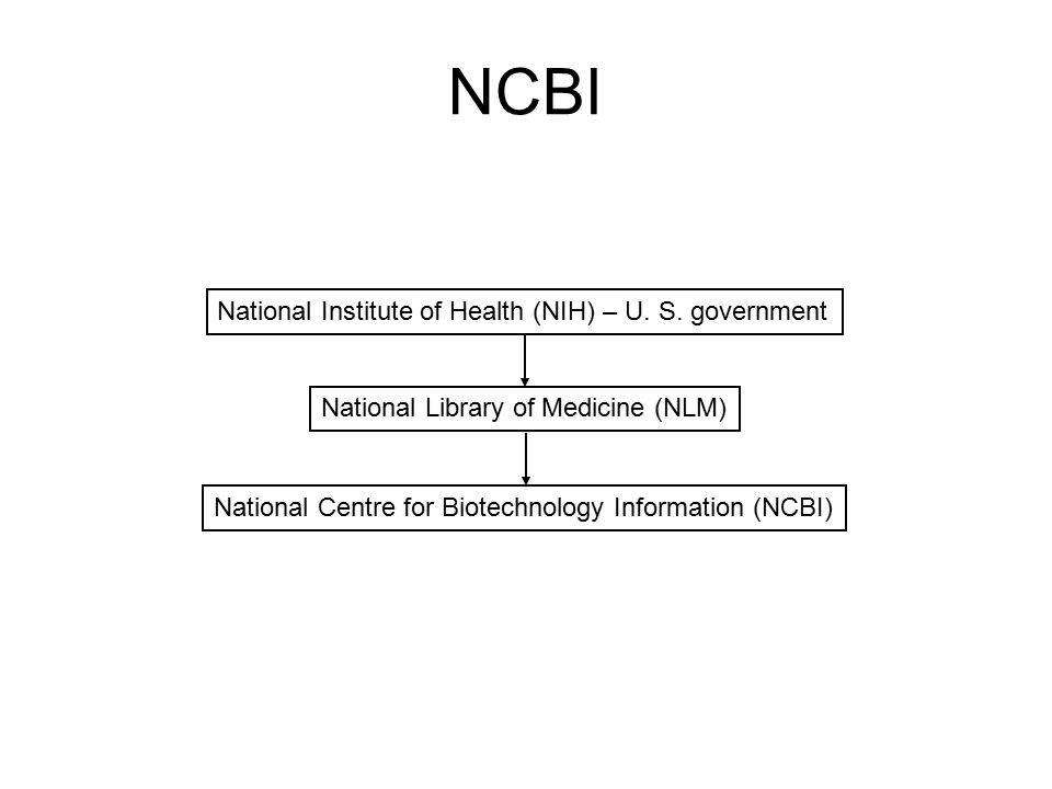 NCBI National Institute of Health (NIH) – U.S.
