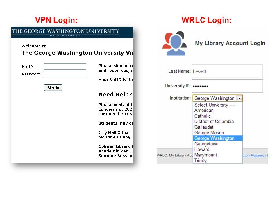Wi-fi on campus Gwireless - wi-fi network Same login you use for Blackboard