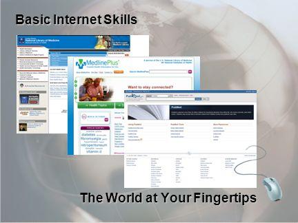 13 The World at Your Fingertips Basic Internet Skills