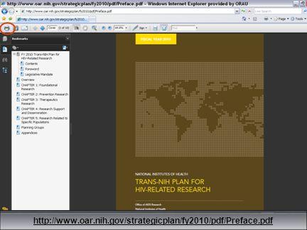 36 http://www.oar.nih.gov/strategicplan/fy2010/pdf/Preface.pdf