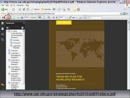 38 http://www.oar.nih.gov/strategicplan/fy2010/pdf/Preface.pdf