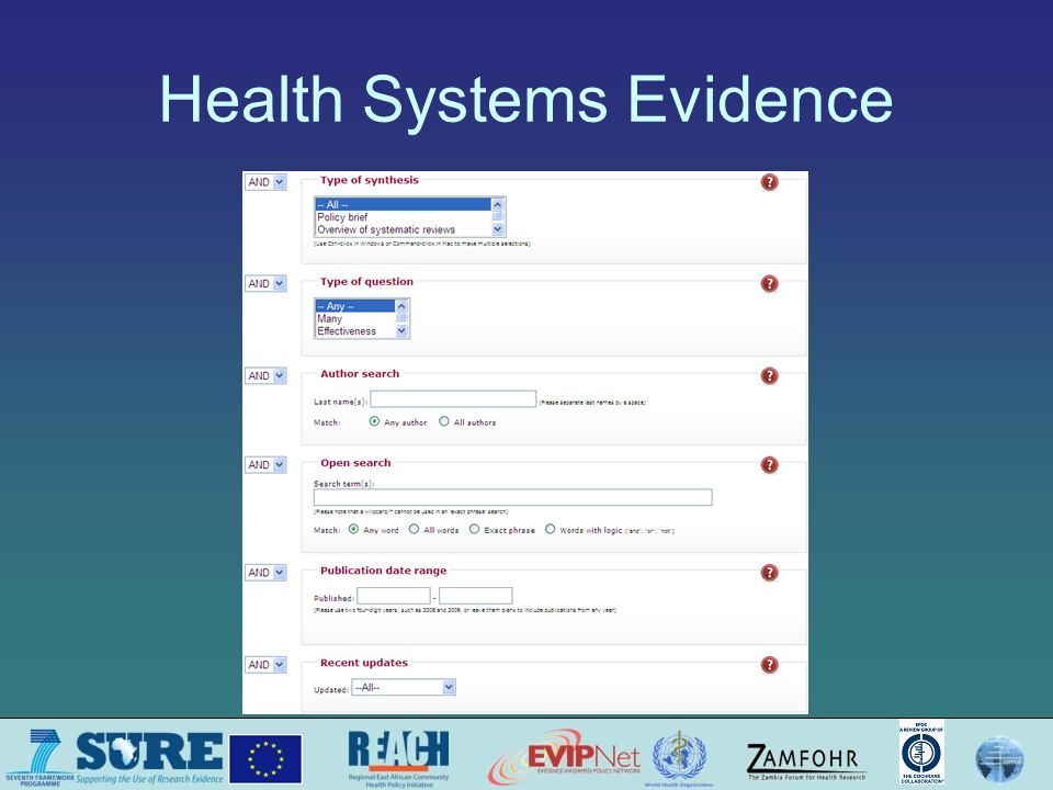 Health Systems Evidence