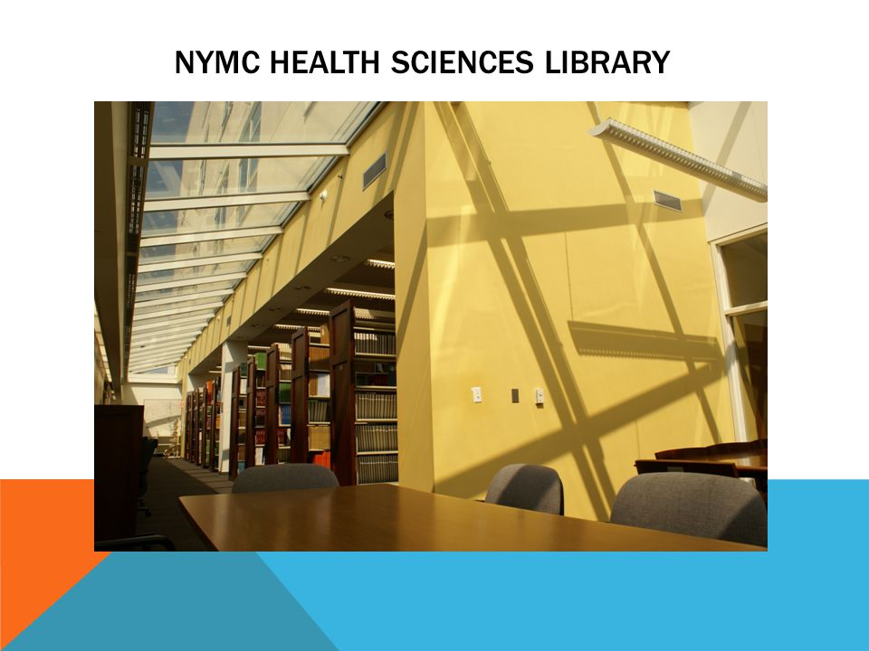 NYMC HEALTH SCIENCES LIBRARY