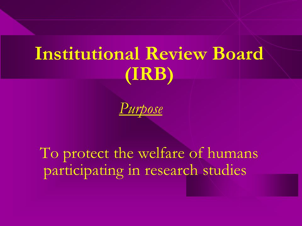 Common mistakes made by P.I.s on IRB applications: Difference between QA and Research.