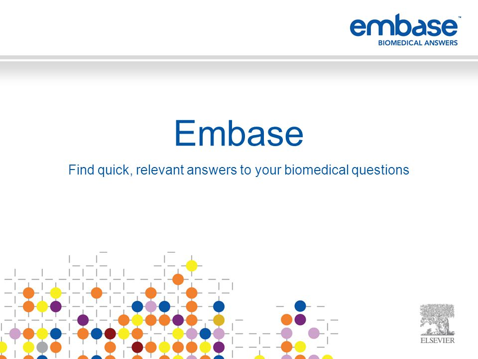Section 3. What is Embase and How it Supports Academic Institutions