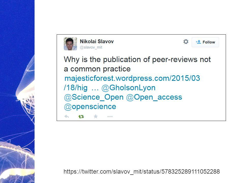 Academic Publishing is Evolving… https://twitter.com/slavov_mit/status/578325289111052288