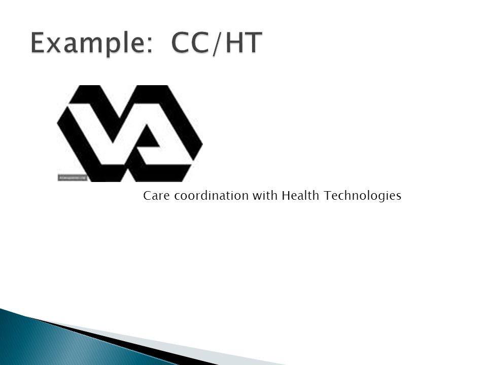 Care coordination with Health Technologies
