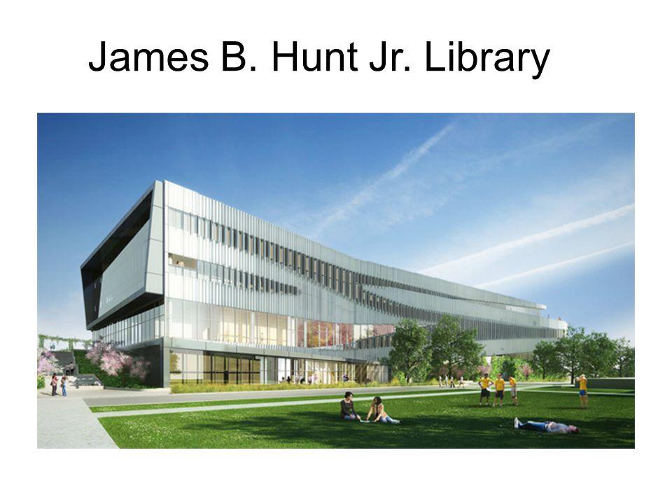 James B. Hunt Jr. Library