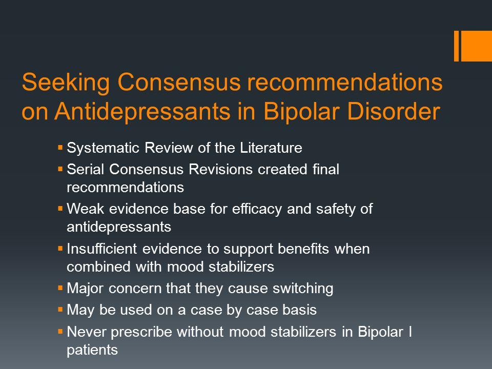 Consensus Statements  5.
