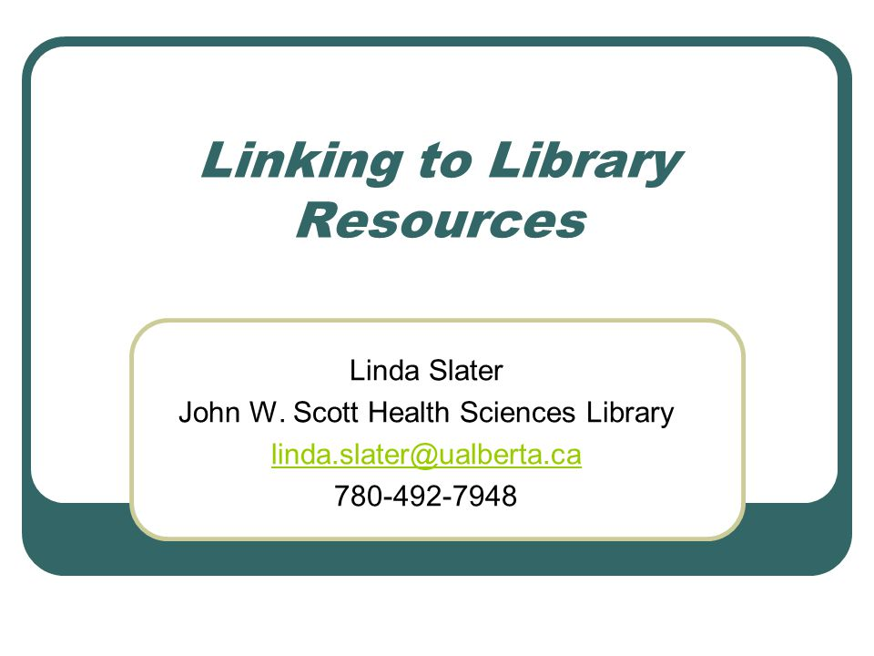 Linking to Freely Available Docs No need to add EZ Proxy prefix Link to specific chapter or document table of contents.