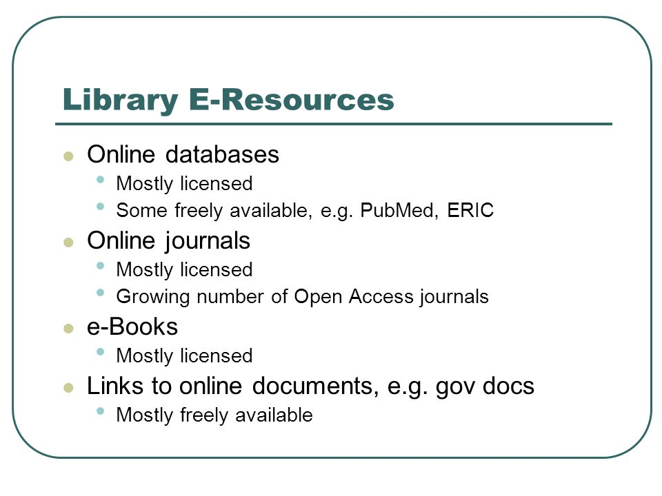 The Library Reading List Service See http://www.library.ualberta.ca/reservereq uest/readinglist/ http://www.library.ualberta.ca/reservereq uest/readinglist/ Library staff will locate and create links for electronic material for instructor reading lists.