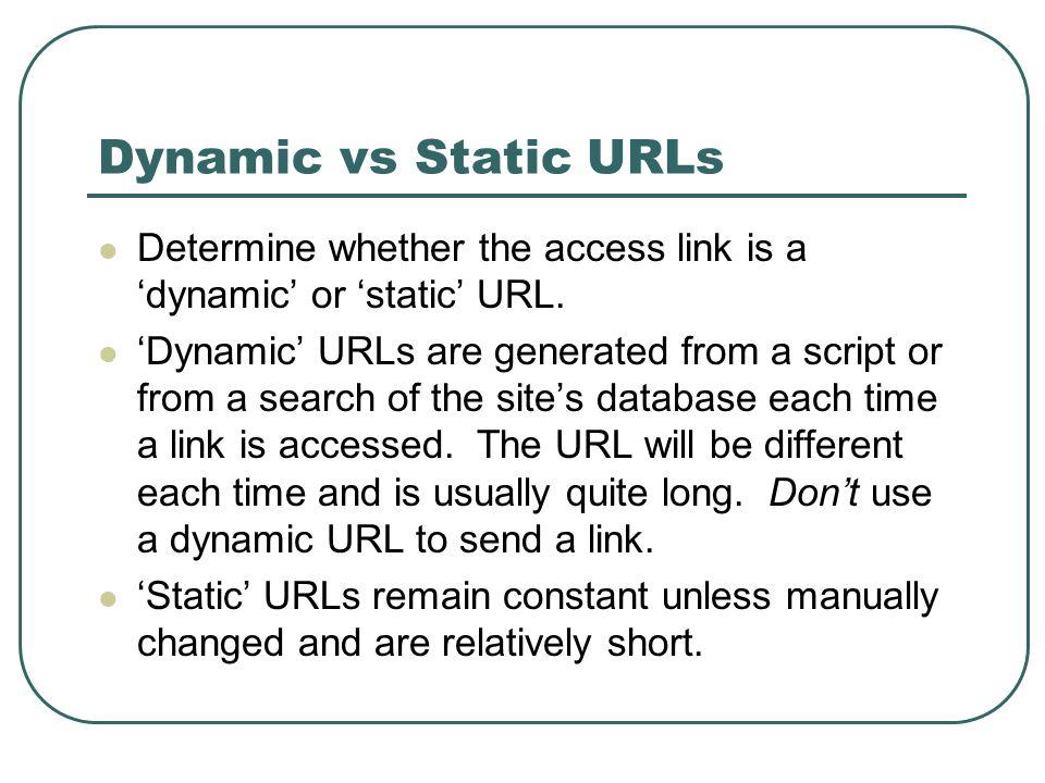 Dynamic Full-text Link