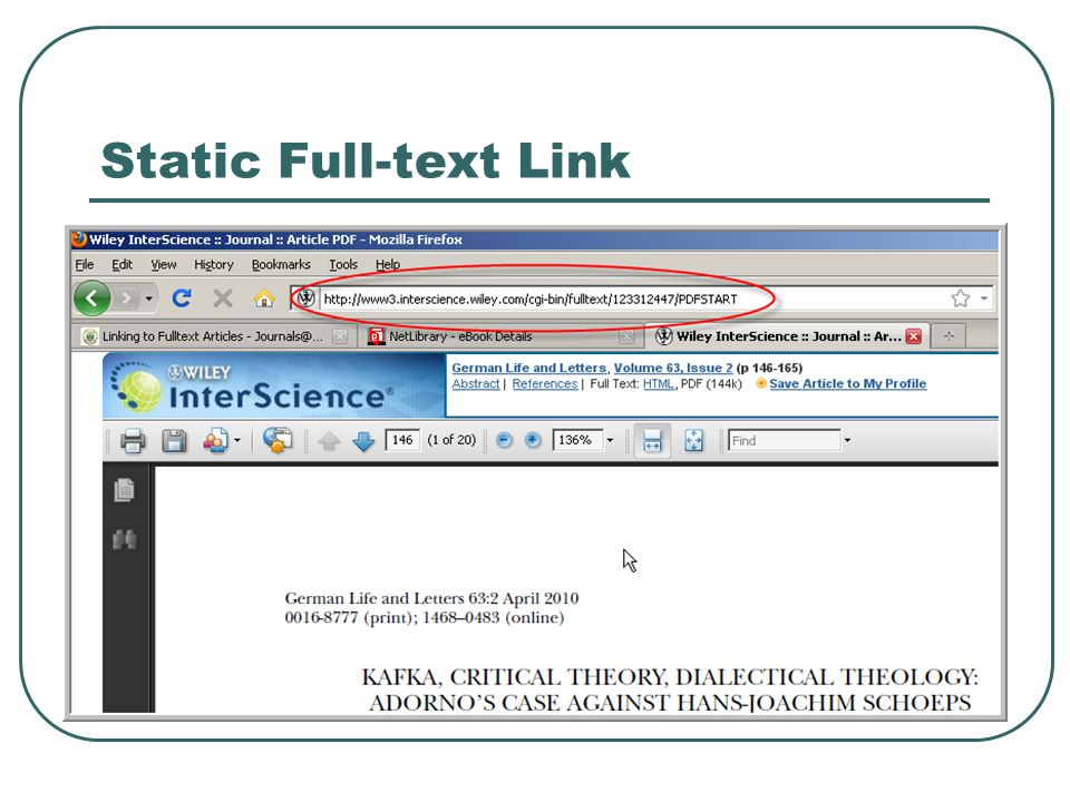 Static Full-text Link