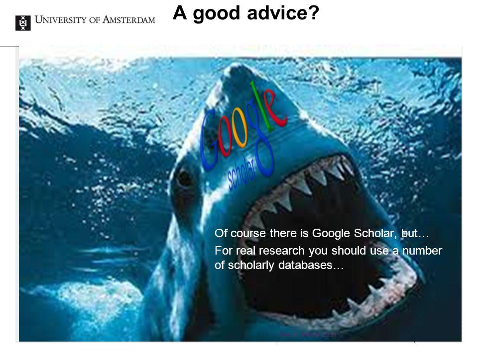 A good advice.