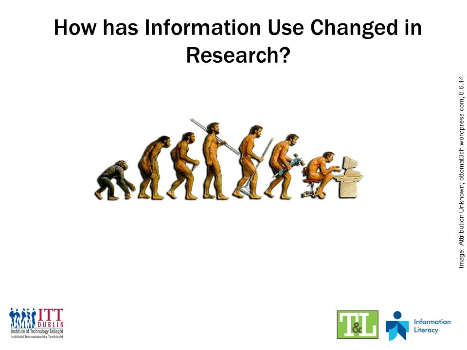 How has Information Use Changed in Research.
