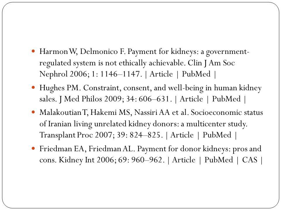 Harmon W, Delmonico F.