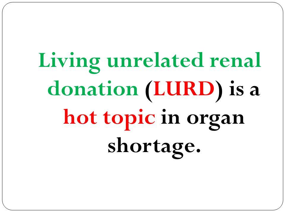 ESRD & Demand for RRT (HD, PD, LRD,LURD & BDD) is increasing