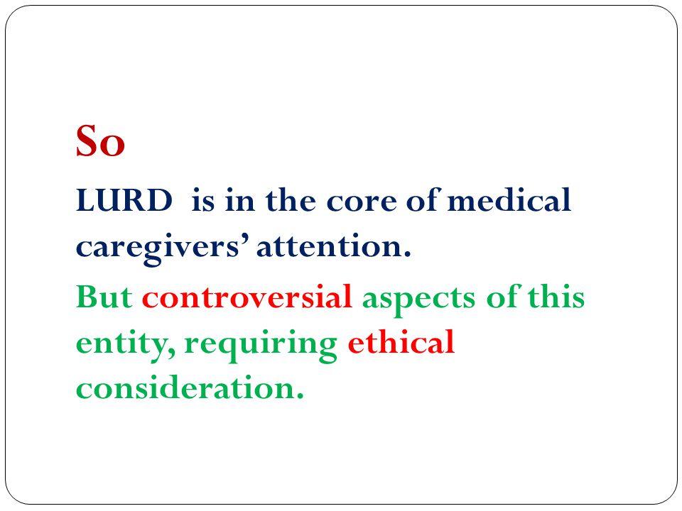 Redirection of budget from LURD program to BDD program.
