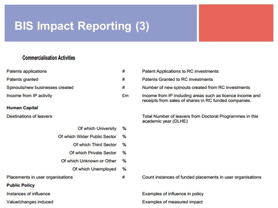 BIS Impact Reporting (3)