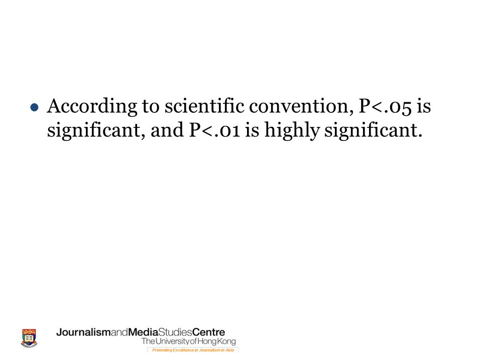 According to scientific convention, P<.05 is significant, and P<.01 is highly significant.