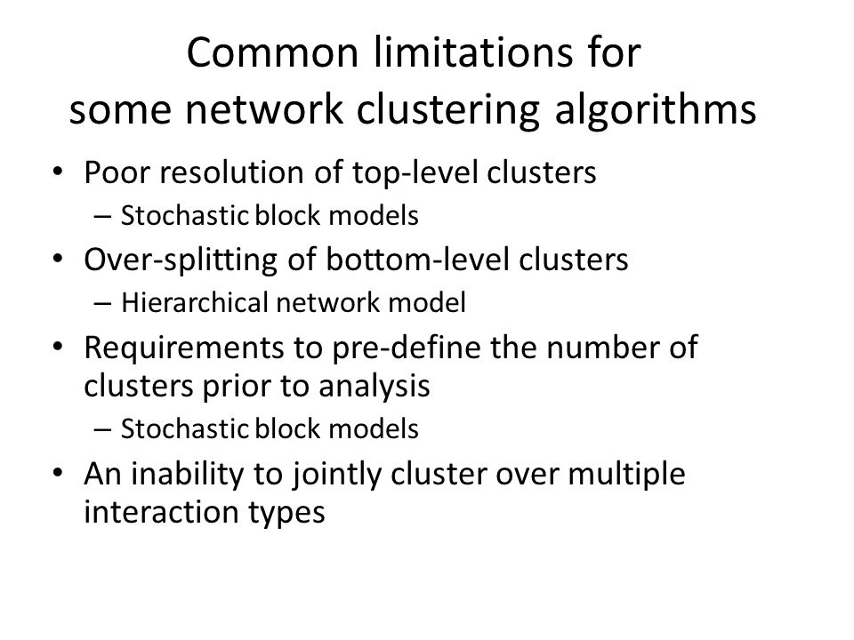 Hierarchical network model by Clauset, Moore, and Newman (CMN)