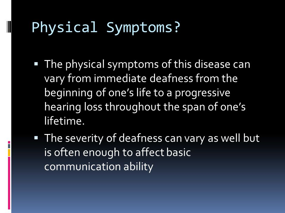Physical Symptoms.