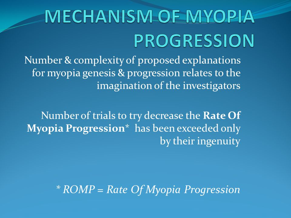 IOVSDec 2011 Decrease in rate of myopia progression with a contact lens designed to reduce relative peripheral hyperopia: one-year results.