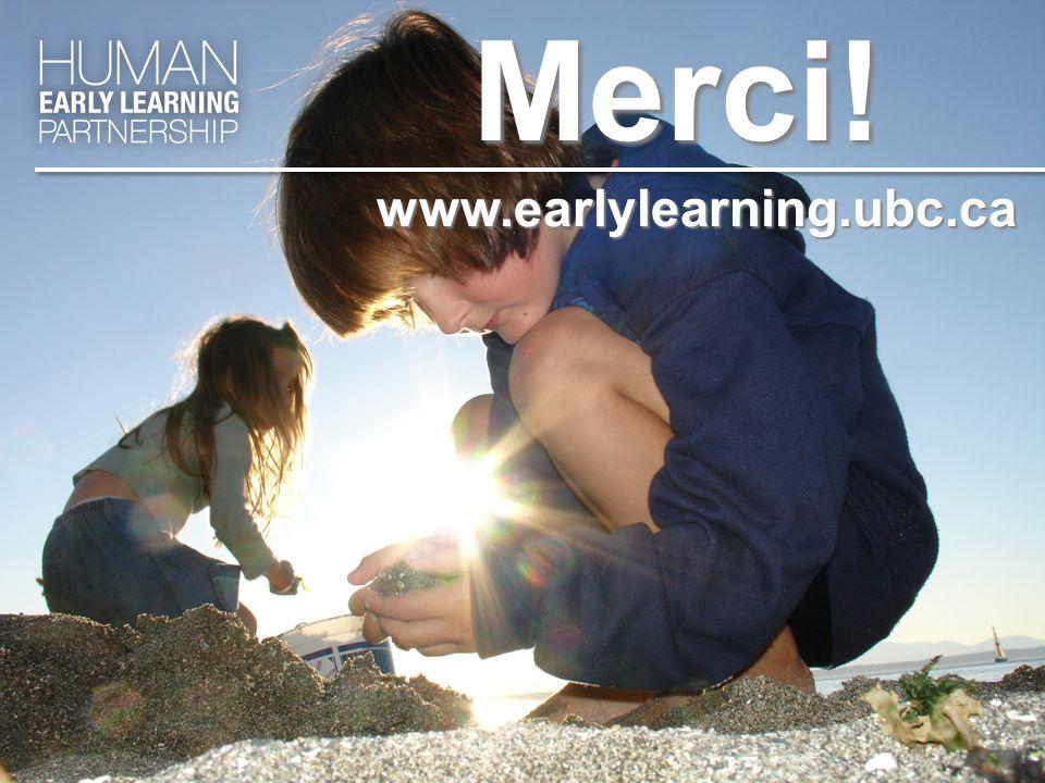 www.earlylearning.ubc.caMerci!