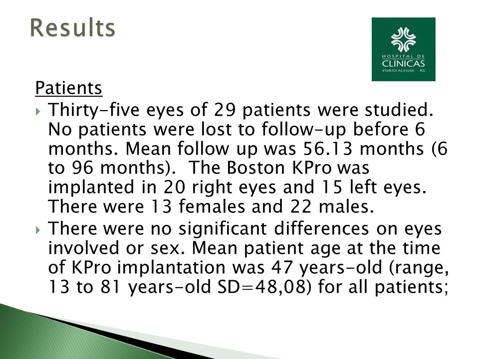Patients  Thirty-five eyes of 29 patients were studied.