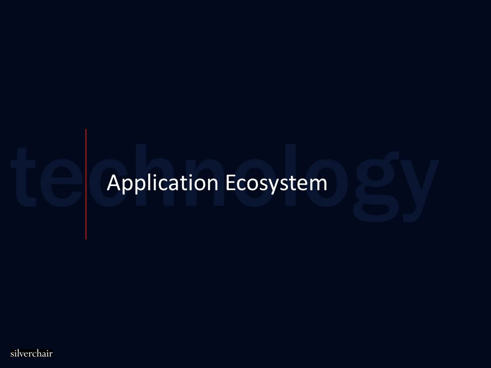 Application Ecosystem