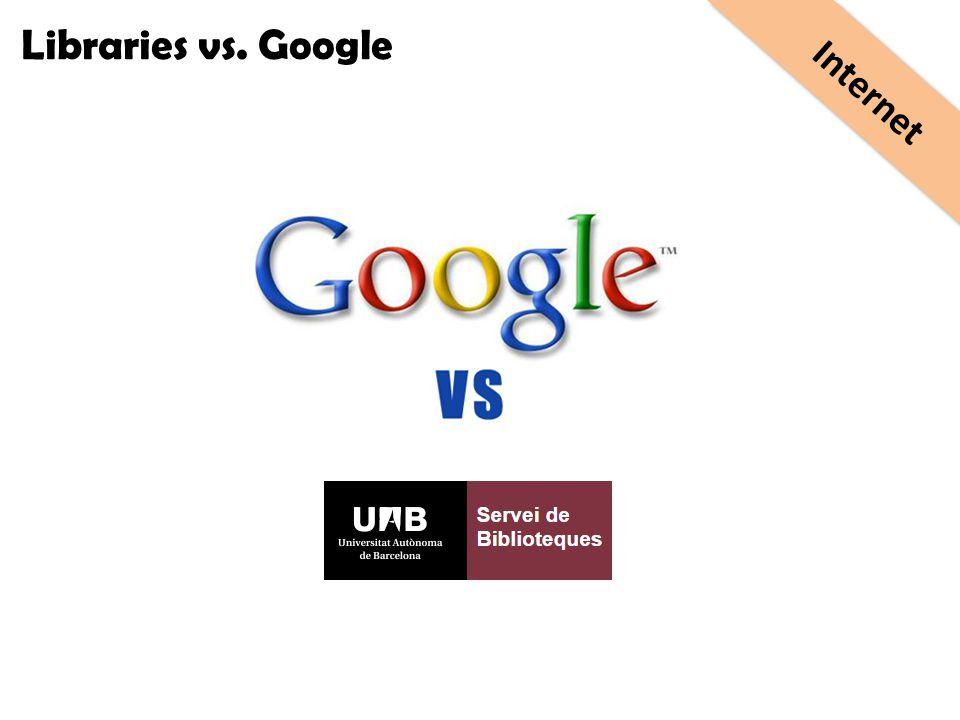 Libraries vs. Google