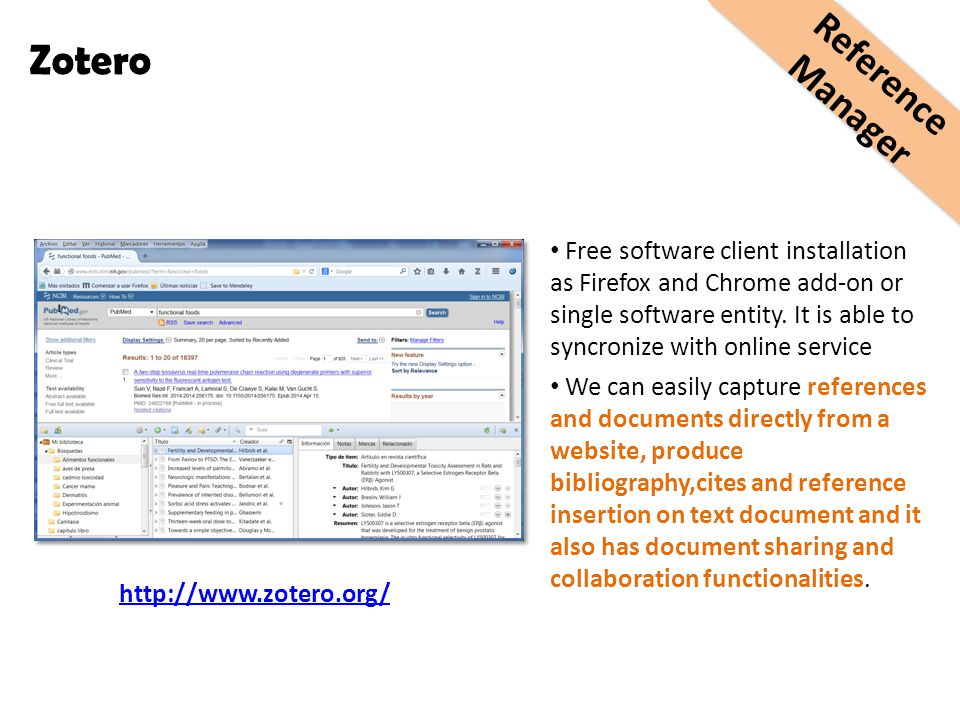 Free software client installation as Firefox and Chrome add-on or single software entity. It is able to syncronize with online service We can easily c