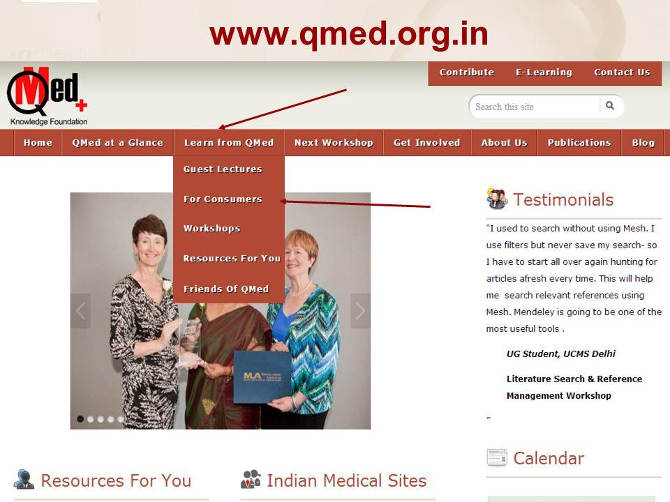 www.qmed.org.in