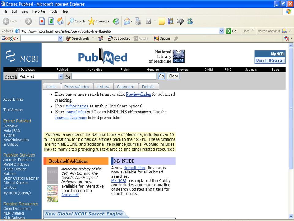 This is the screen if you have sent the articles to the clipboard The clipboard holds your articles for 8 hours