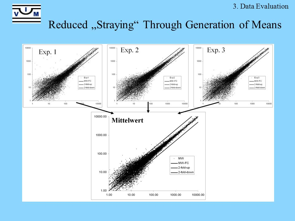 "Reduced ""Straying Through Generation of Means 3. Data Evaluation"