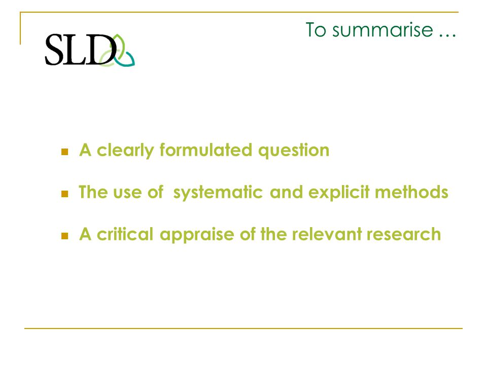 1.Formulating a Problem What is your research question .
