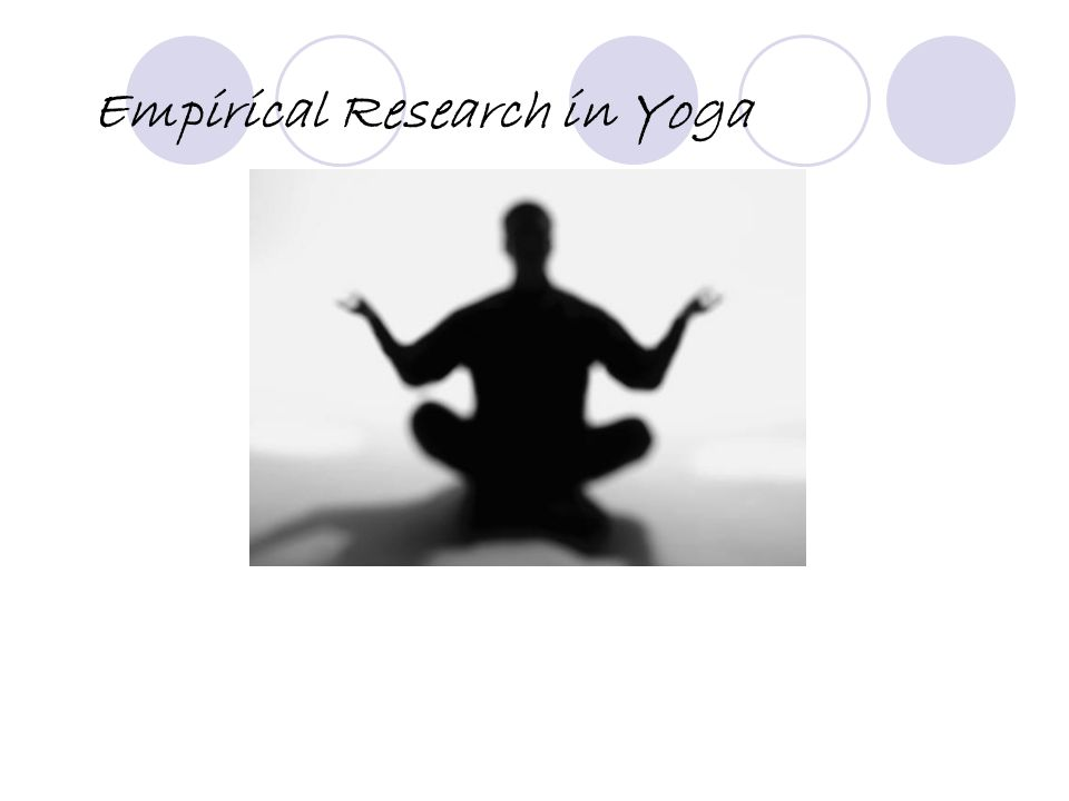 Empirical Research in Yoga