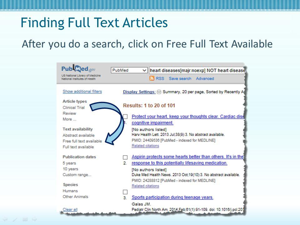 Find Tutorials at PubMed.gov