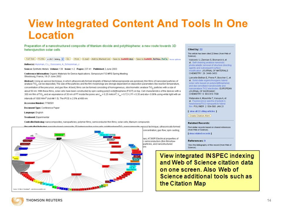 View Integrated Content And Tools In One Location 14