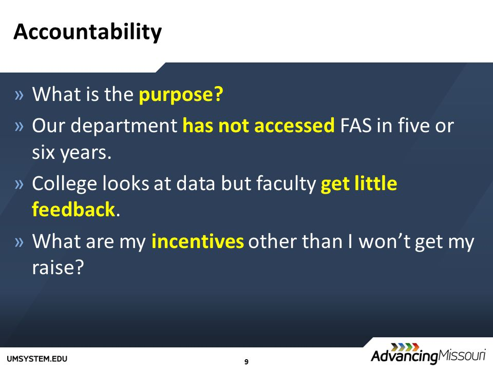 10 Customization & the User Interface »Doesn't fit faculty who do clinical teaching and community service.
